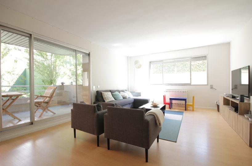 Preciosa planta baixa en lloguer de 160 m2 amb terrassa de 70 m2