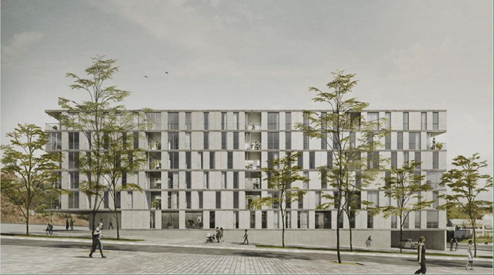 Barcelona invertirá 20 millones en la construcción de 212 viviendas industrializadas
