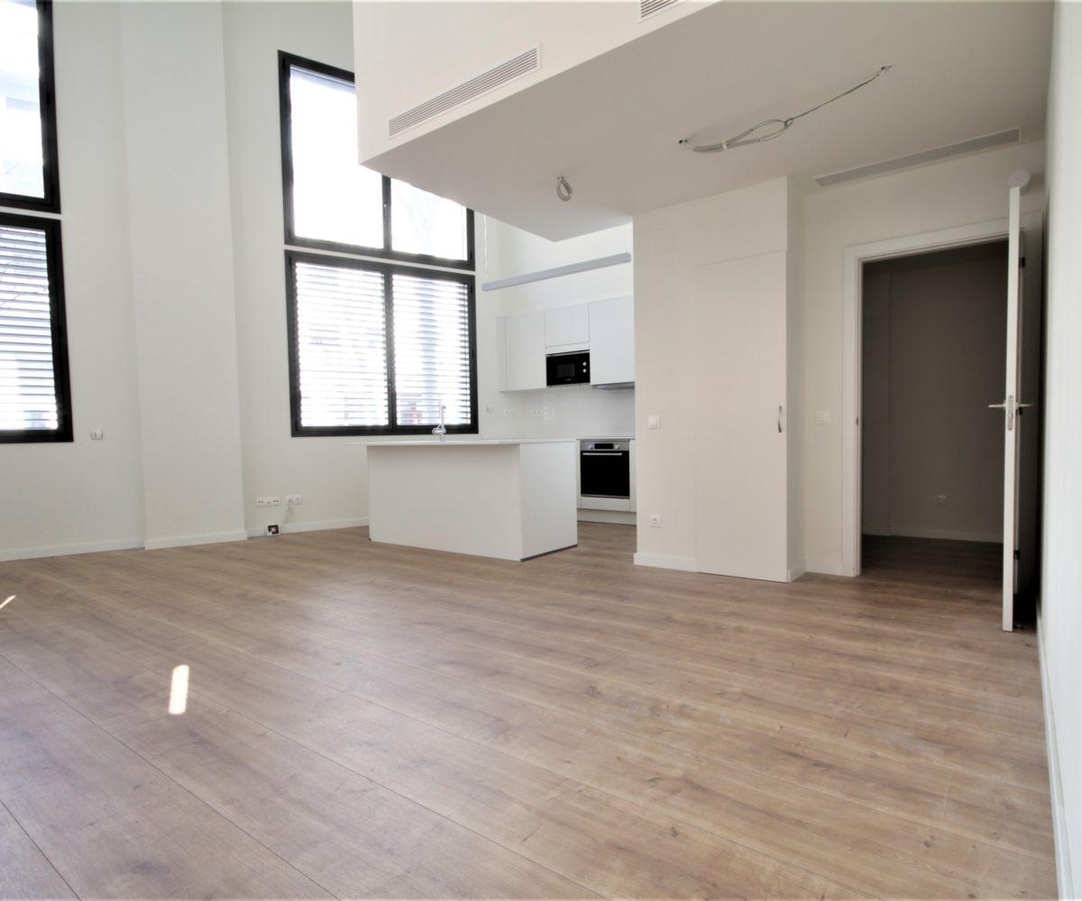Fantásticos pisos tipo dúplex en promoción de obra nueva de les Corts.