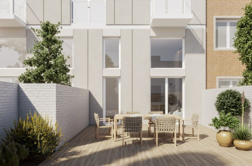 Promoción de 7 viviendas de obra nueva en Camp de l'Arpa del Clot.