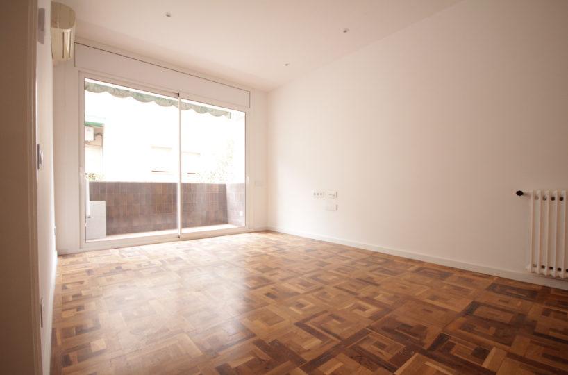 Acogedor piso de 80 m2 en zona muy tranquila de Bonanova.
